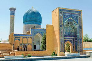 ouzbekistan samarkand mausolee gur e amir  it