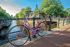 (vignette) Vignette Pays Bas Amsterdam Velo  fo