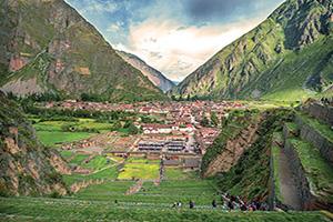 perou vallee sacree ancienne forteresse inca  fo