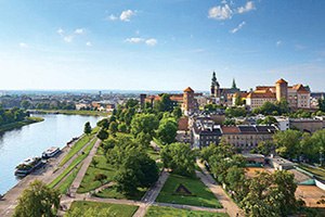 pologne cracovie panorama  it