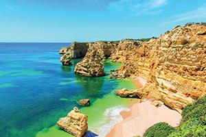 portugal algarve praia da marinha  it