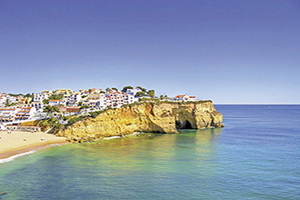 portugal algarve village cravoeiro  fo
