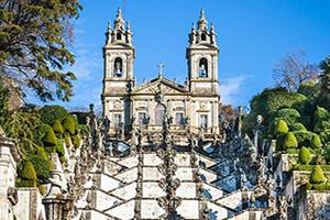 portugal braga monastere bom jesus monte  fo