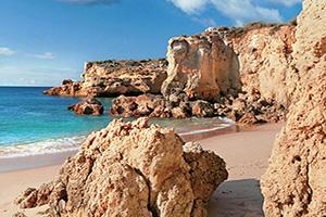 portugal faro albufeira plages dorees  fo