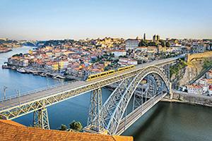 portugal porto pont dom luis  fo