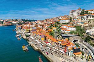 portugal porto vue aerienne  fo