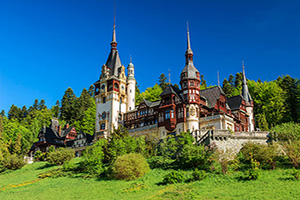 roumanie sinaia peles chateau  it