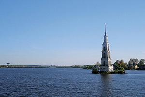 russie kalyazin volga riviere panoramique