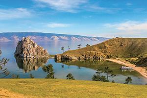 russie lac baikal ile olkhon sur le lac baikal  fo