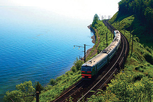 russie lac baikal train  it