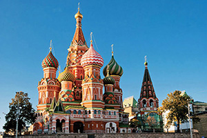 russie moscou cathedrale saint basile  fo