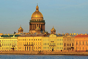 russie saint petersbourg cathedral saint isaac  fo