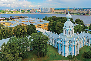russie saint petersbourg cathedrale smolny  it