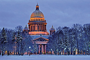 russie saint petersbourg stisaac cathedrale  fo