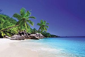 seychelles praslin plage  fo