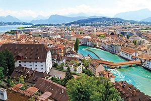 suisse lucerne vue aerienne  it