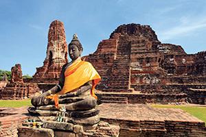 thailande ayuthaya wat mahathat  it