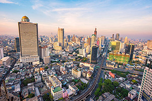 thailande bangkok horizon urbain  it