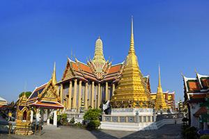 thailande bangkok wat phra kaew temple  fo