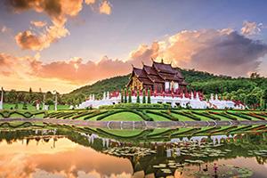 thailande royal flora park de chiang mai  fo