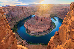 usa grand canyon incroyable vista de horseshoe bend  it