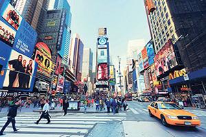 (vignette) Vignette USA New York trafique de New York  it