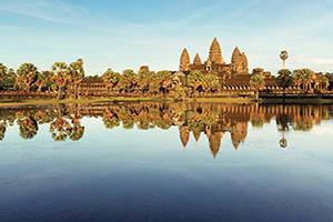 vietnam cambodge angkor wat siem reap  fo