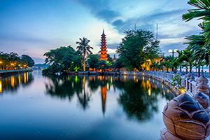 vietnam hanoi tran quoc pagoda  fo
