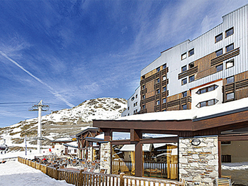 france savoie val thorens hotel club mmv les arolles hotel