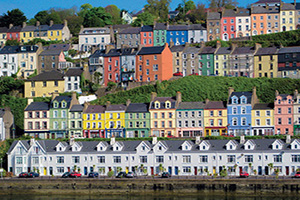irlande cork maisons colorees  fo