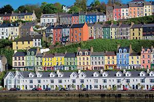 irlande cork maisons colorees  fo