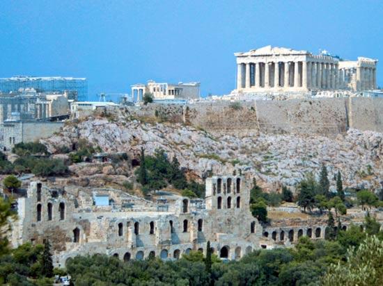 voyage grece athenes acropole