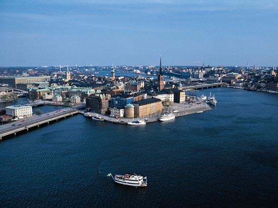 (Image) voyage scandinavie mer stockholm suede