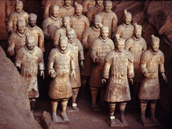 voyage chine xian armee terre cuite