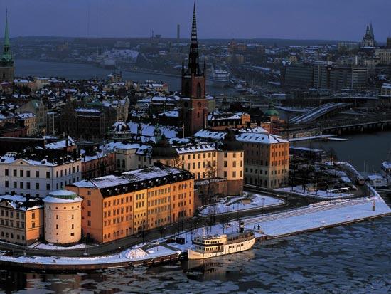 (Image) voyage scandinavie stockholm suede