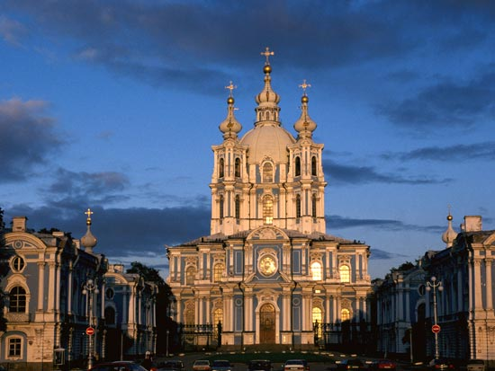 (Image) voyage russie saint petersbourg smonly monastery