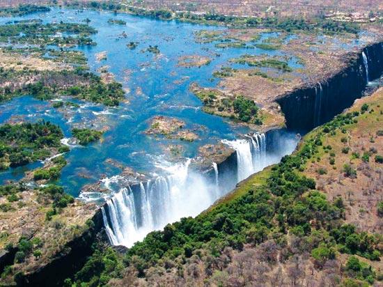 Extrêmement Circuit Afrique du Sud - Zimbabwe : Afrique Australe, du Cap de  CP77
