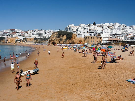 voyage portugal albufeira plage