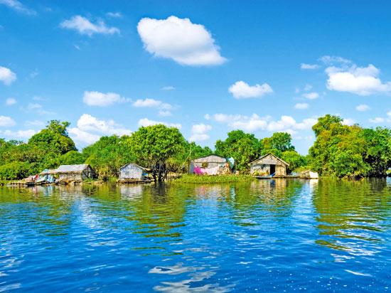 (Image) NT cambodge siem reap village flottant mechrey fotolia