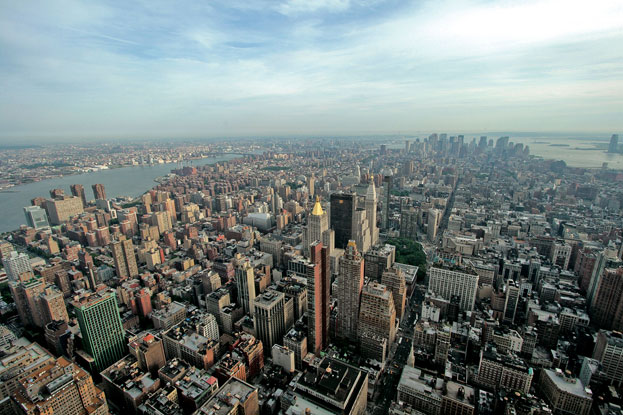 Illusration de l'article Vue sur Manhattan depuis l'Empire State building