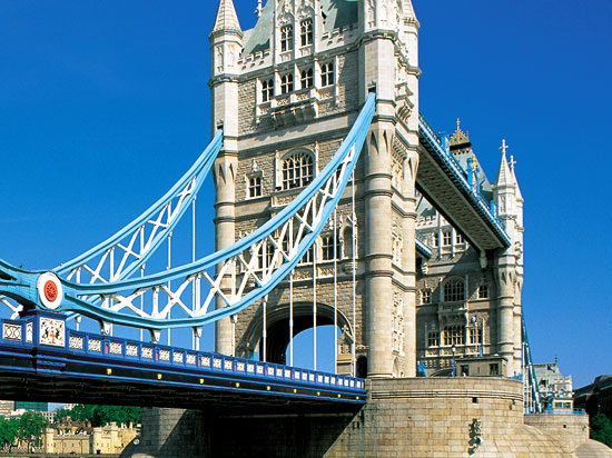 angleterre londres tower bridge