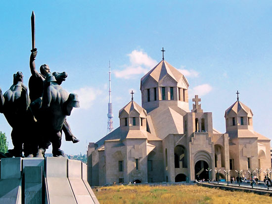 (Image) armenie erevan  fotolia