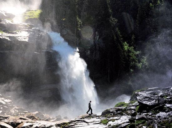 autriche tyrol salzbourg chutes de krimml  fotolia