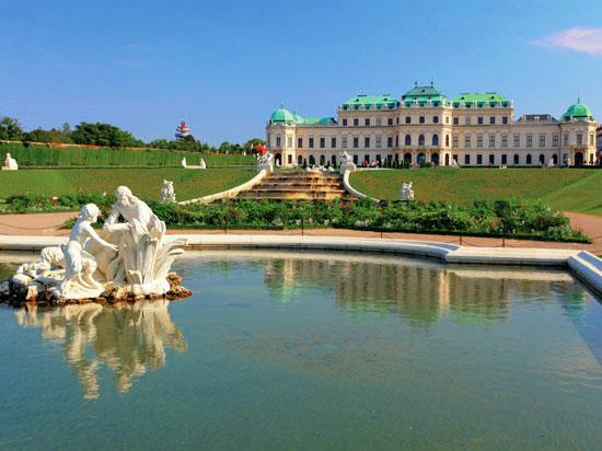 autriche vienne chateau belvedere  fotolia