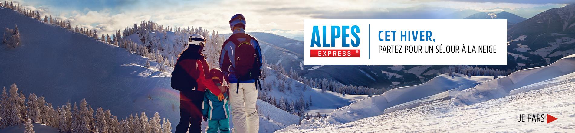 Cet hiver, partez en séjour à la neige avec Alpes Express