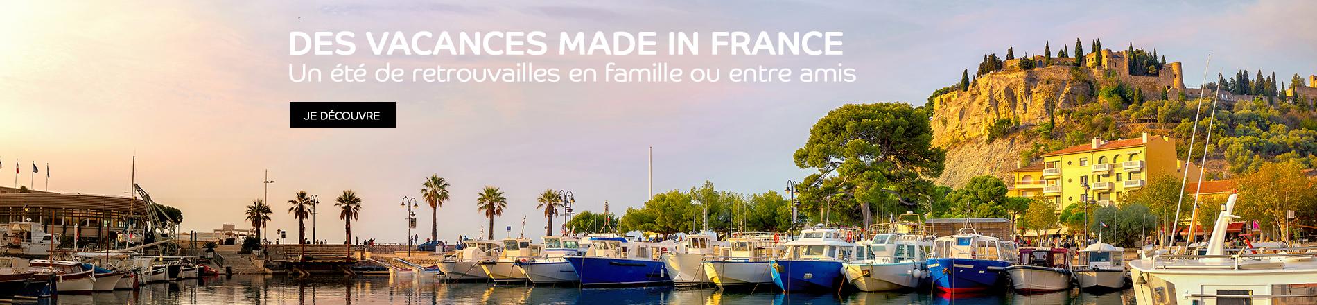 Les vacances en France en séjour et en location