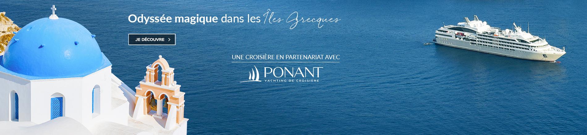Les îles grecques avec Ponant