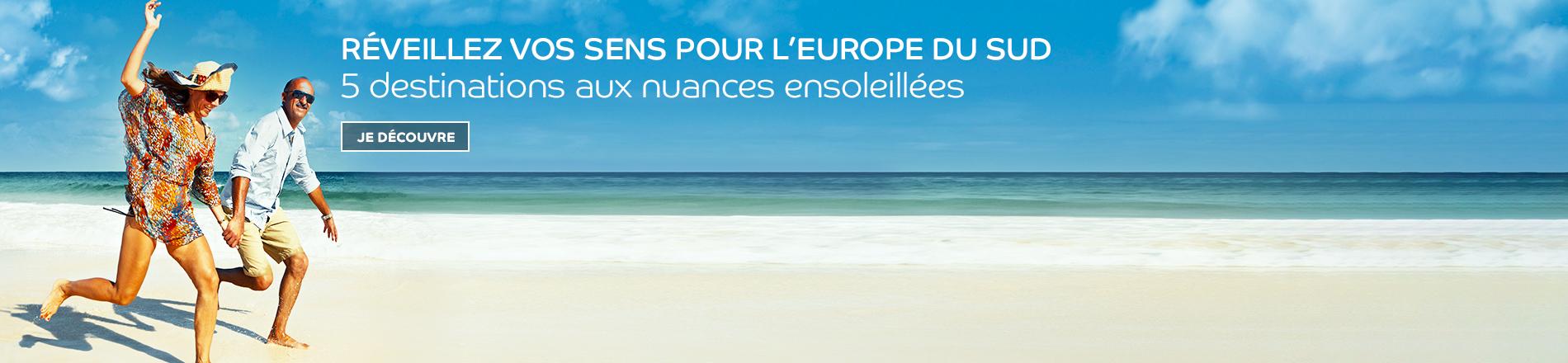 Cet été partez en Europe du Sud