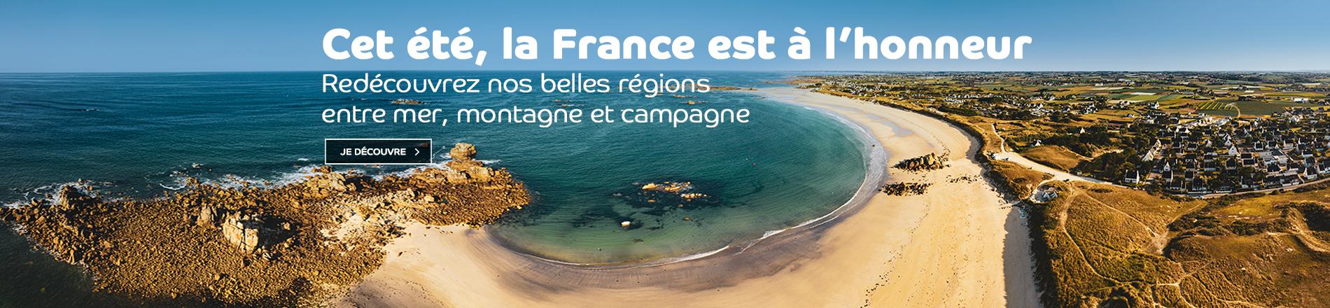 La France et ses plus belles régions