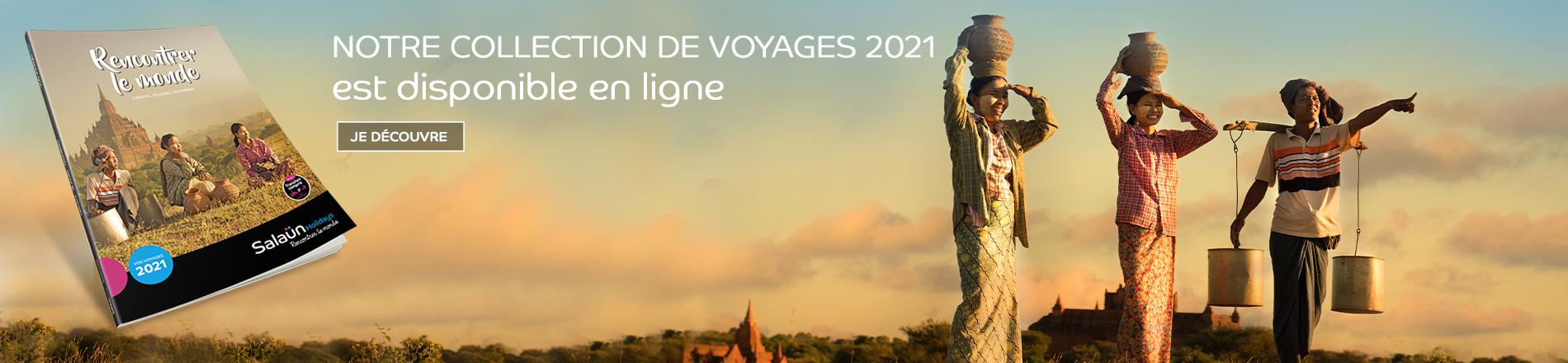 Notre collection de voyages 2021